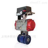 Q641TC-16C DN32耐磨气动陶瓷球阀