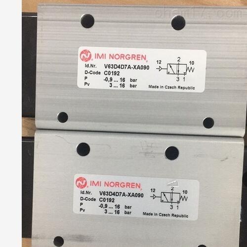 英国诺冠导式电磁阀,Norgren