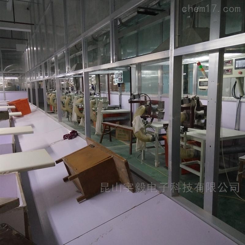 苏州充绒机生产线