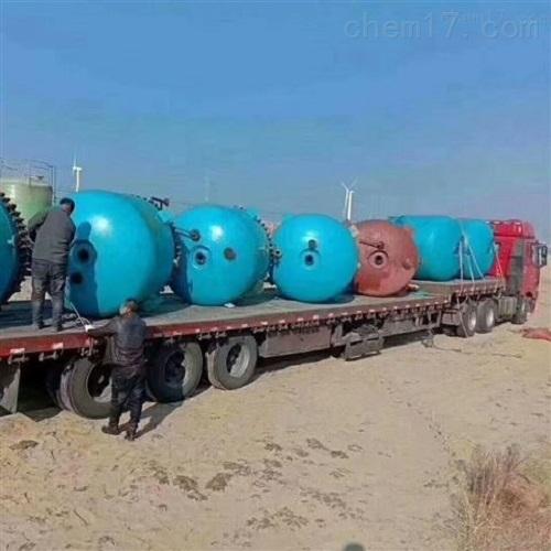 闲置二手30吨不饱和树脂反应釜现货供应