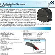 FX-HM-15-N1S-1PN美国UNIMEASURE FX-HM系列线性位置传感器