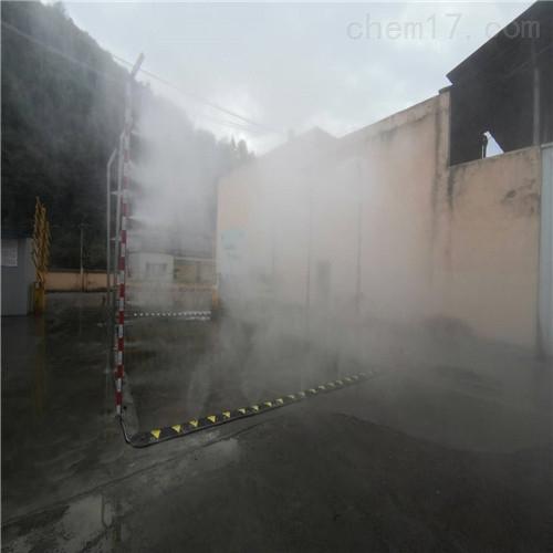 湖北喷雾除臭养猪场消毒系统