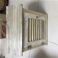 气象站百叶箱工地大气环境测温箱木质