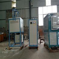 可升降式玻璃熔化爐 高溫熔塊爐廠家