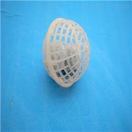 污水处理悬浮球填料也称聚脂纤维网笼球