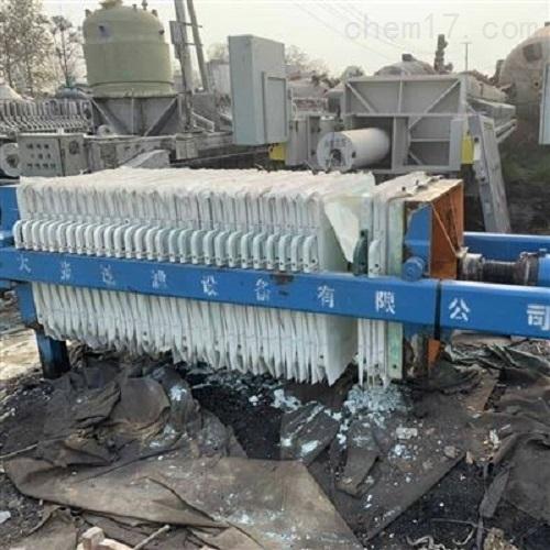 二手洗煤用的250平程控隔膜压滤机