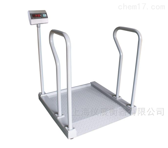 医院透析科用不锈钢透析轮椅电子秤