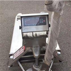 3吨304不锈钢电子叉车秤