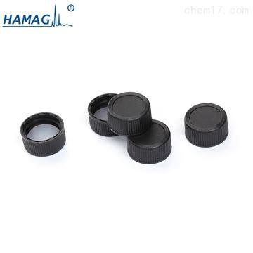 HM-0020黑色实心盖;PTFE/硅胶垫