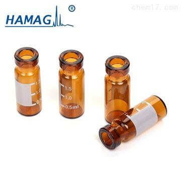 HM-33762ml棕色钳口样品瓶带书写处/11mm