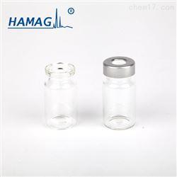 HM-083810ML 透明平底钳口顶空瓶/短颈 /22.5*46/