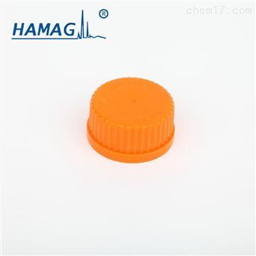 HM-00G450JH流动相瓶实心原装盖 中心凸起(桔黄)