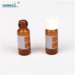 32*11.6mm2ml棕色螺纹样品瓶带刻度书写处 8MM