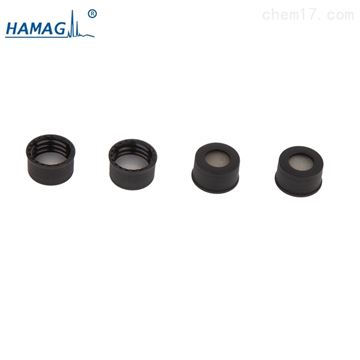 HM-4463预组装黑色螺纹开口盖(含PTFE/硅胶垫片)