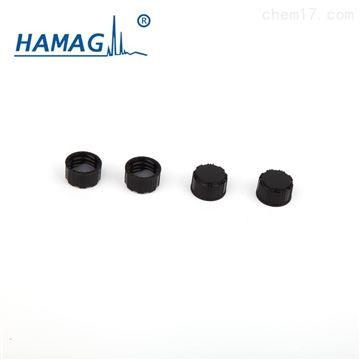 HM-4465预组装黑色螺纹实心盖(含PTFE/硅胶垫片)
