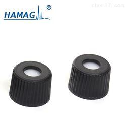 8mm预组装黑色开孔盖;红色PTFE/白色硅胶垫