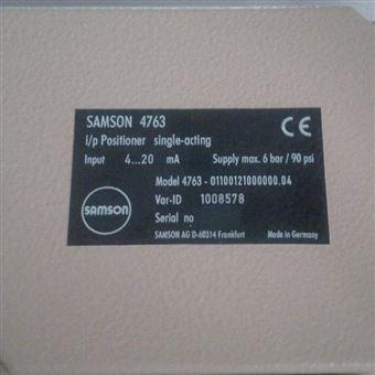 4763-01100121000000.04萨姆森SAMSON阀门定位器4763-01