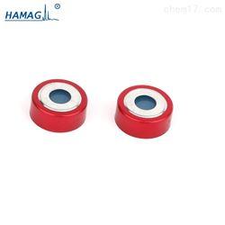 HM-4484R磁性开口铝盖,本色特氟龙/淡蓝硅胶隔垫