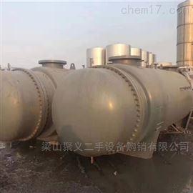 二手300平方钛材列管不锈钢冷凝器出售