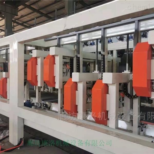 流淌型匀质板设备可划分为两大类
