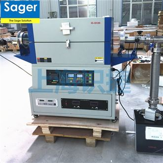 SG-GS1200真空炉电极分析管式炉