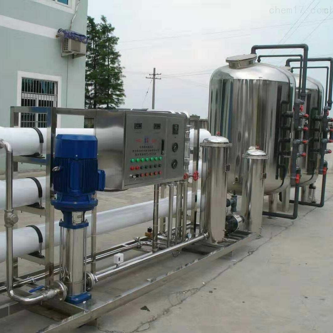 闲置二手12吨不锈钢双机水处理现货供应