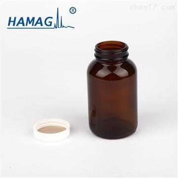 HM-GKPZ-250样品瓶棕色广口瓶250ml含盖+PTFE 垫