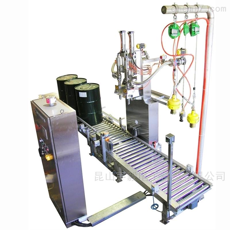 全自动油灌装机厂家;昆山益永源灌装设备
