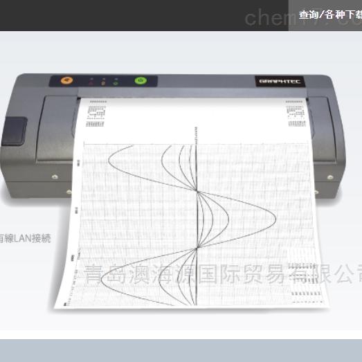热敏打印机日本图技GRAPHTEC温度测试仪