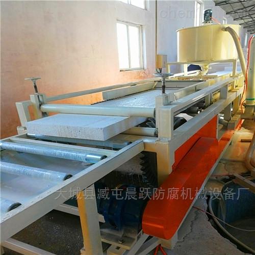 A级阻燃渗透硅质保温板设备  硅质板生产线