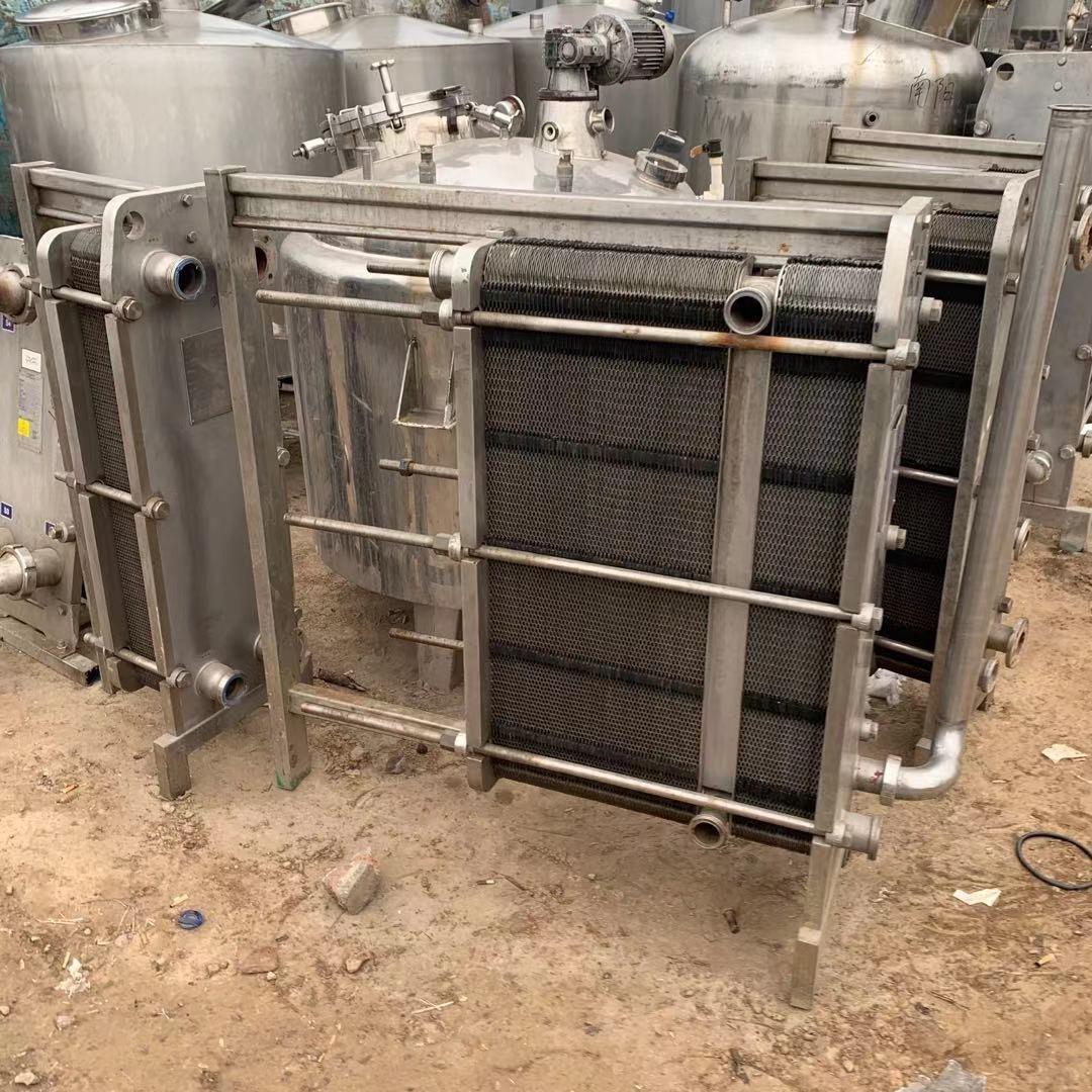 二手全不锈钢乳品厂板式换热器