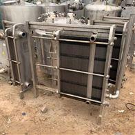 1-500平方二手全不锈钢乳品厂板式换热器