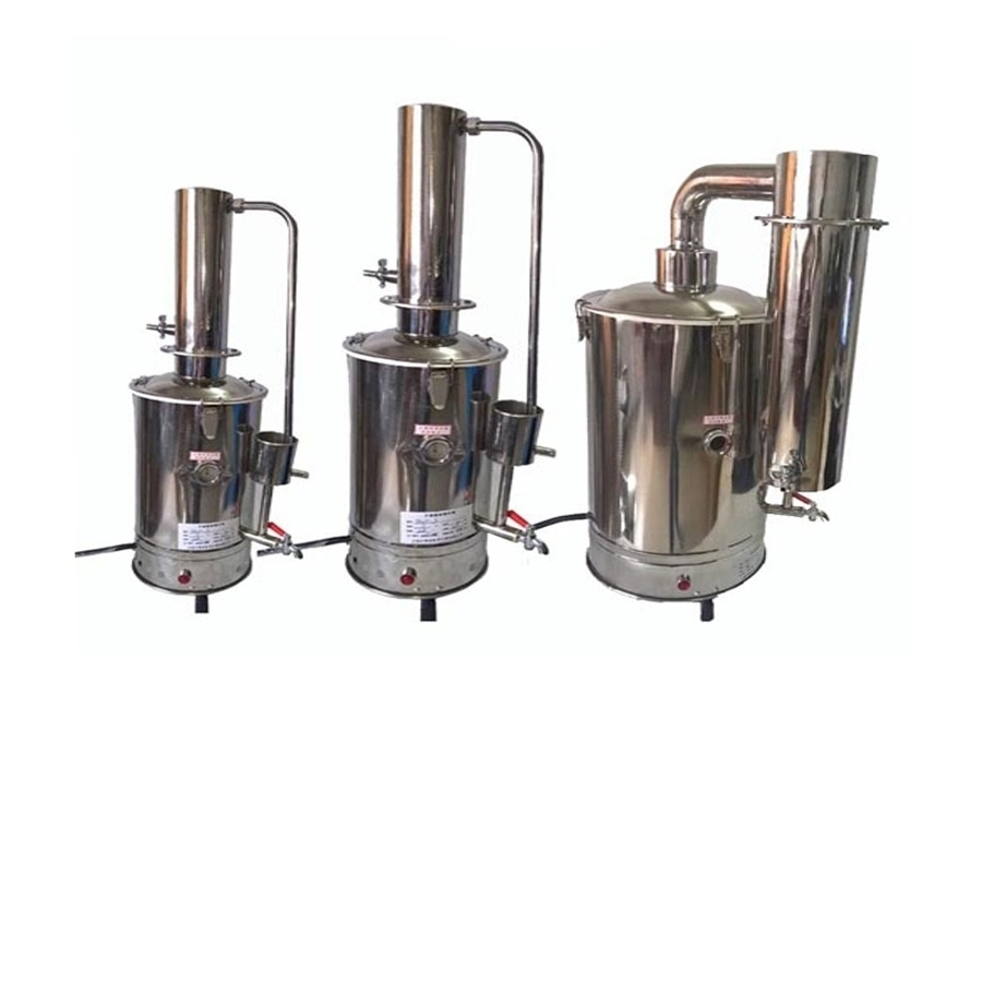 YA-ZD-10实验室不锈钢电热蒸馏水器