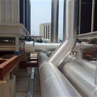 内蒙古包头铁皮铝皮保温施工队 施工案例