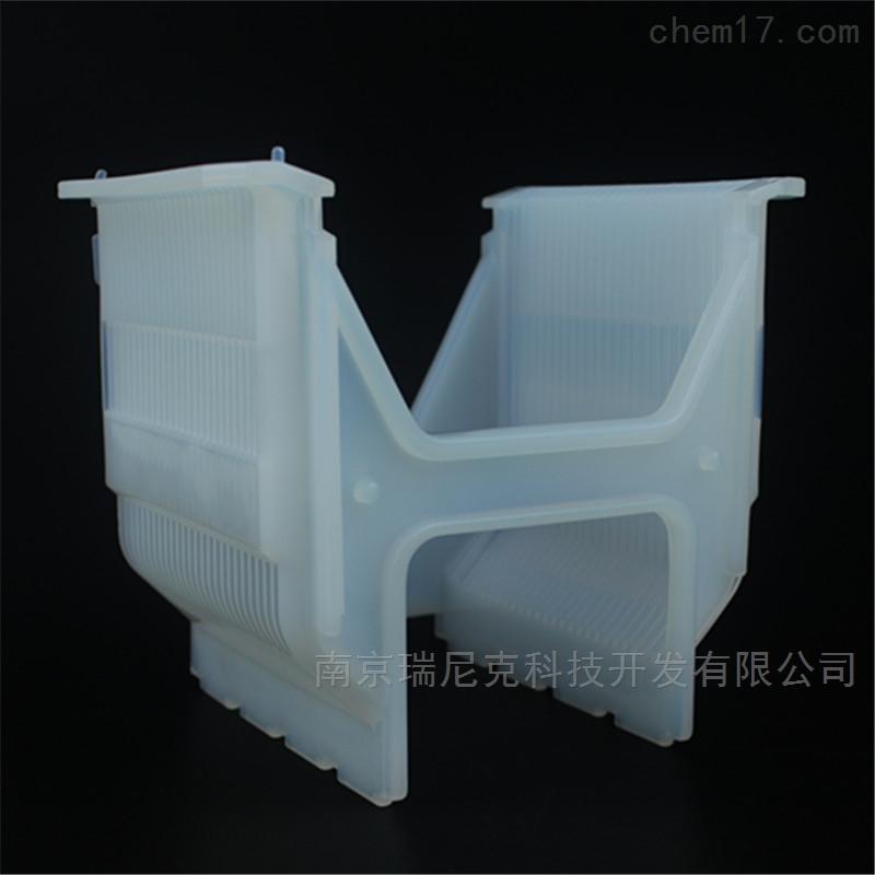 6寸半导体太阳能特氟龙清洗花篮晶圆清洗架
