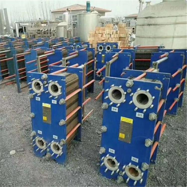 回收二手饮料厂设备 板式换热器