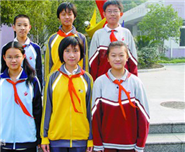 中小学生交通反光校服