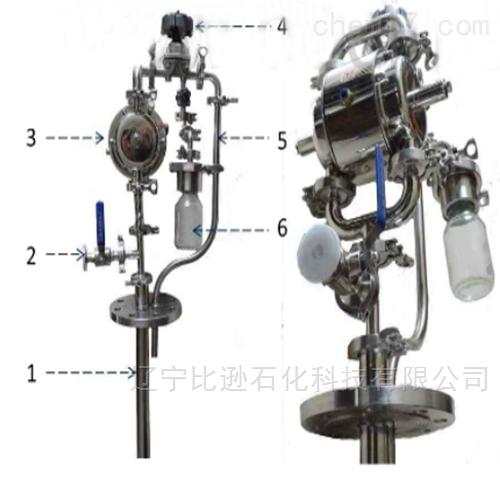 反应釜采样器密闭循环采样