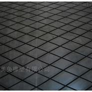 皮带机滚筒菱形胶板包胶陶瓷胶板