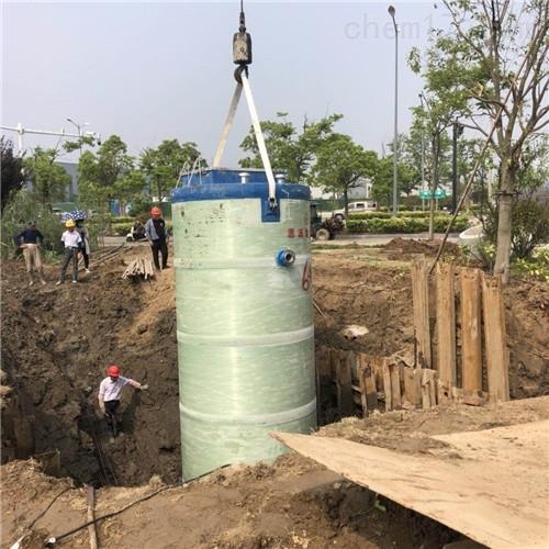 防腐密封一体化预制提升泵站