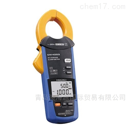 CM4003AC泄漏电流钳形表日本日置HIOKI