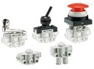 SMC带快换管接头机控电磁阀型号多VM100F