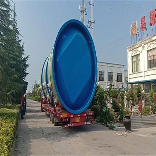 玻璃钢预制一体化泵站粉碎格栅的作用