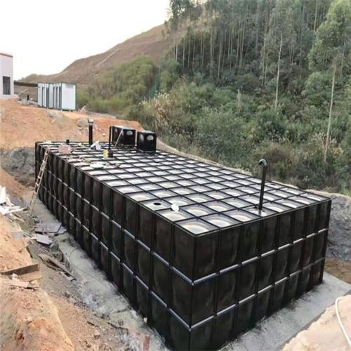 镀锌板地埋消防水箱怎么组装