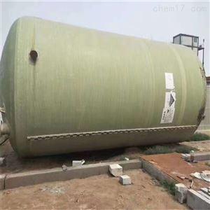 便宜处理二手50吨玻璃钢储罐型号齐全