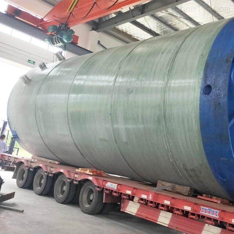 浙江玻璃钢一体化污水泵站安装