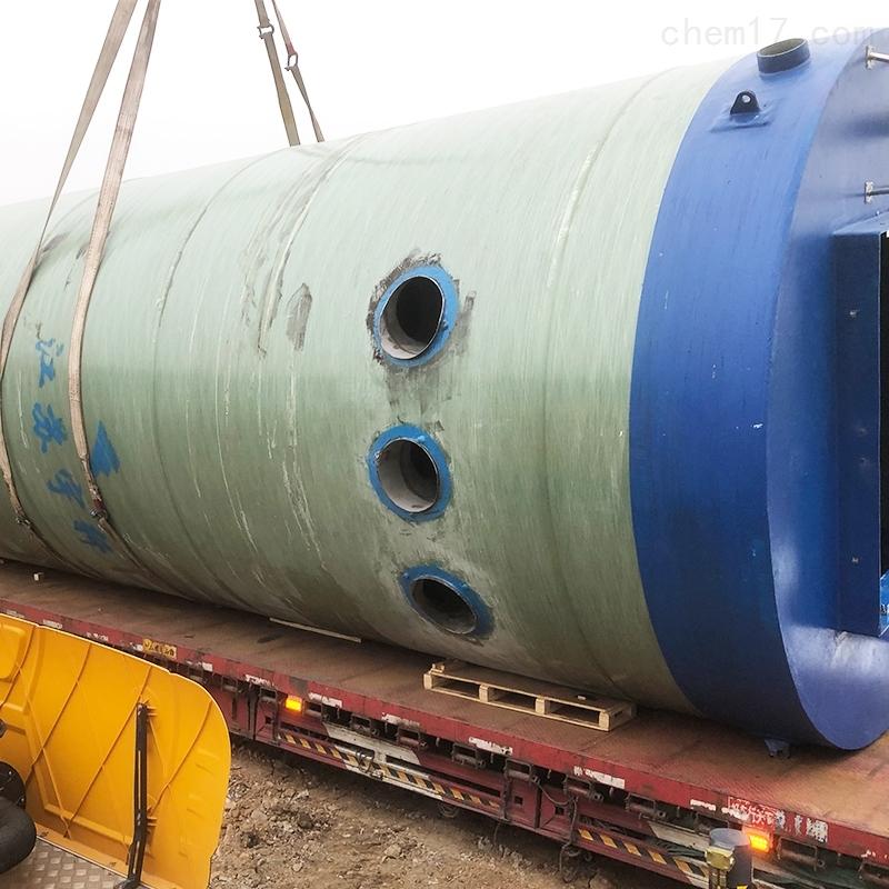 北京GRP玻璃钢一体化污水提升泵站厂家
