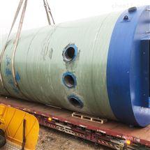 雨水泵站北京GRP玻璃钢一体化污水提升泵站厂家