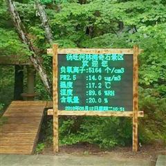四川风景区微型站负氧离子在线监测系统