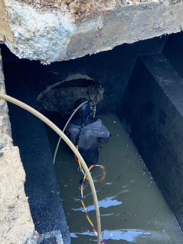 白银污水管道封堵电话-实力派水下封堵